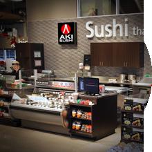 Succursale Aki Sushi