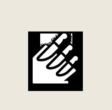 Pictogramme couteaux